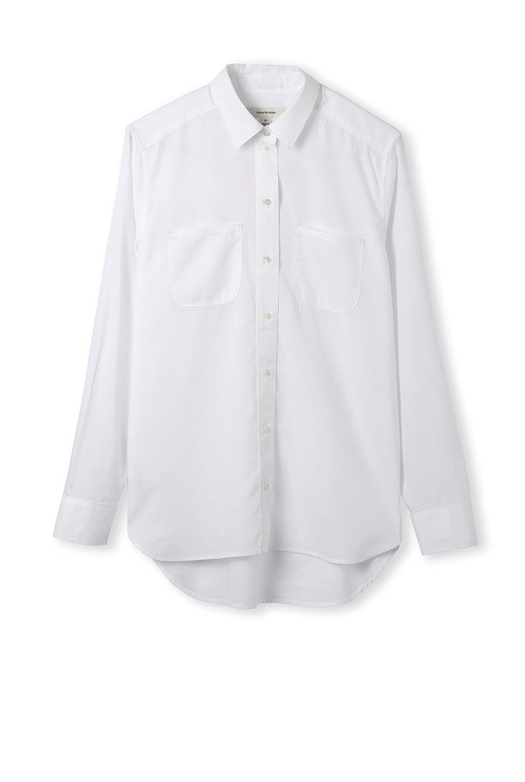Country Road white voile shirt