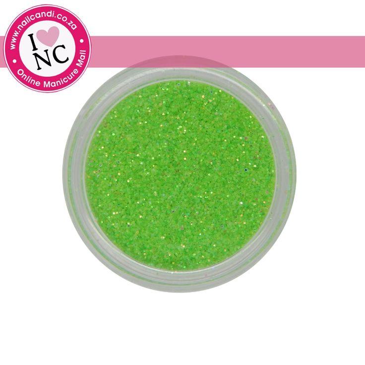 Nail art Glitter - Neon Green