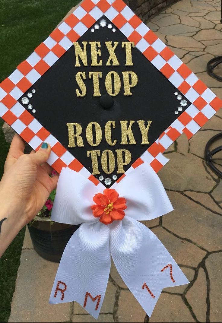 University of Tennessee graduation cap #gradcap #utk
