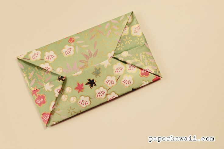 Easy Origami Envelope Tutorial