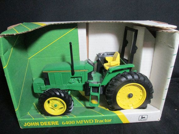 Ertl  John Deere 6400 MFWD Tractor Collector's Edition scale model