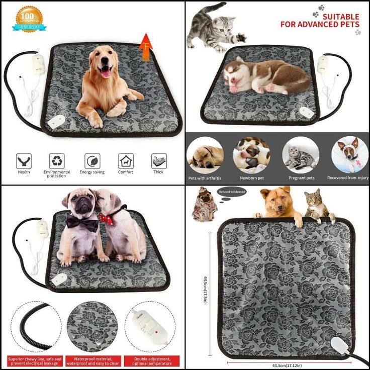 Electric Heated Pet Bed Warmer Mat Dog Cat Puppy Heating Pad Waterproof Warming #ONSON
