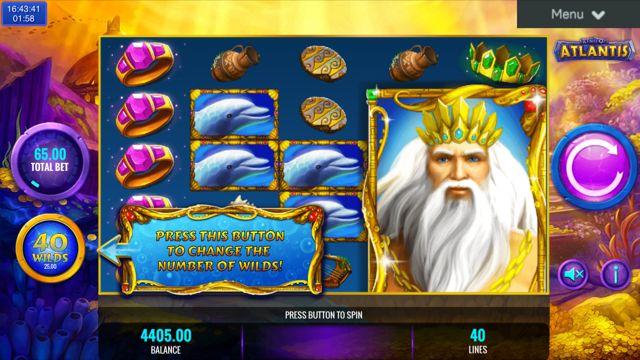 King of Atlantis Slot Review | IGT