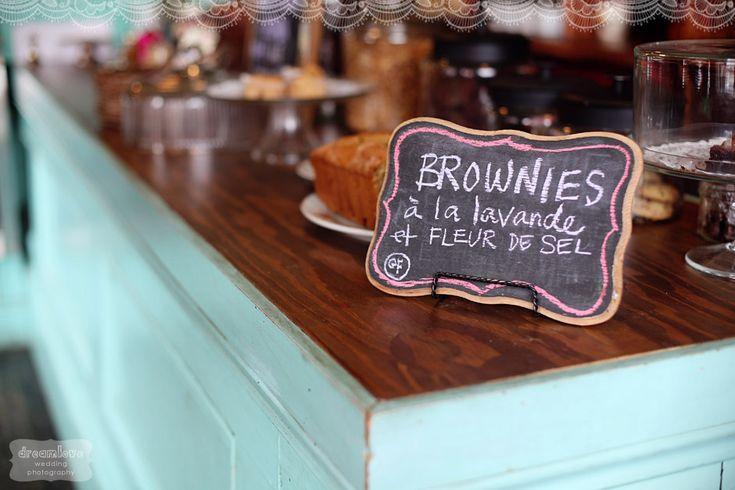 lavender fleur de sel brownies- amazing and gluten free!  fuchsia epicerie fleur