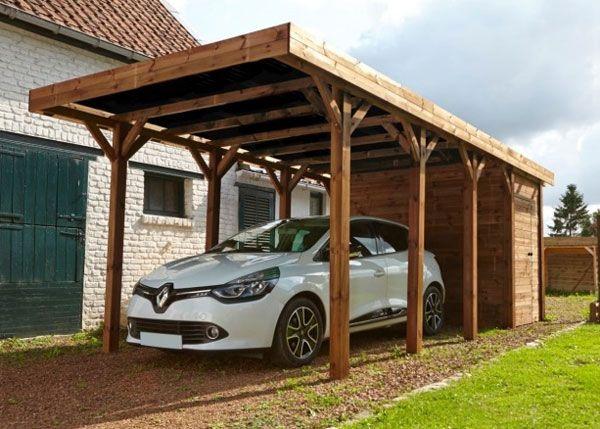79 best abris et garages de jardin images on pinterest garage pratique lorsquon a pas de garage carport voiture solutioingenieria Choice Image