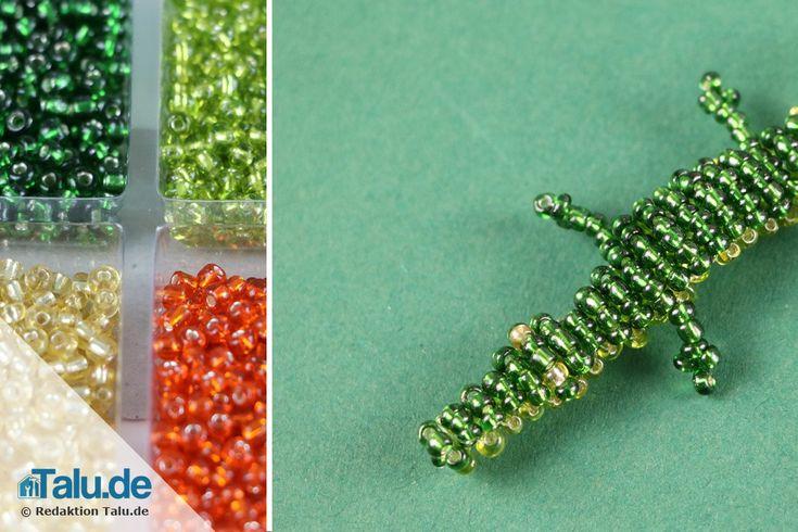 Kennen Sie schon diese edlen Rocailles-Perlen aus Glas? In dieser Anleitung lernen Sie, wie Sie tolle Perlentiere basteln können.
