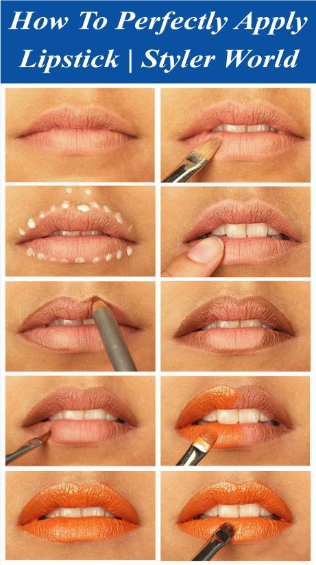 Applying lipstick perfectly is a prime for concern for every girls, always looking for the right answer of how to perfectly apply lipstick.