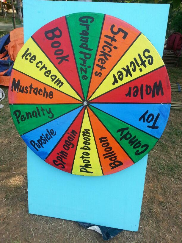 Wheel of fortune by Rasm Events