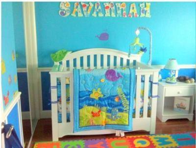 ocean theme baby room ideas underwater themed bedroom sea themed