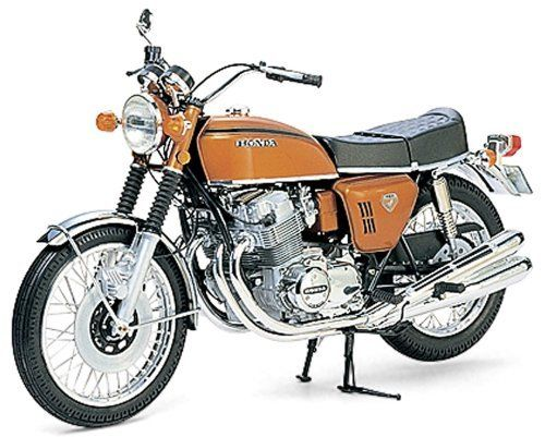 Honda CB750 Four Motorcycle 1/6 Tamiya by Tamiya. $161.16. Plastic Model Kit Assembly Required. 1/6 Scale. Skill level 2. All Tamiya Model Kits are highly detailed and Go together really well. Decals and instructions included.