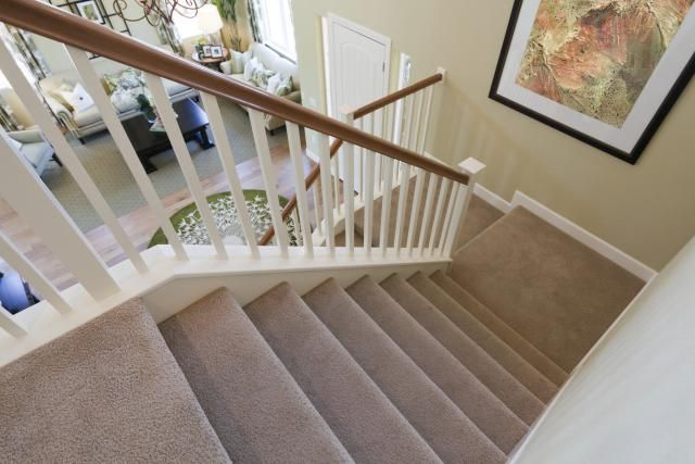 Take a look at what makes a carpet ideal for stairs, whether you can use berber on steps, and why thick carpet won't work on the stair.