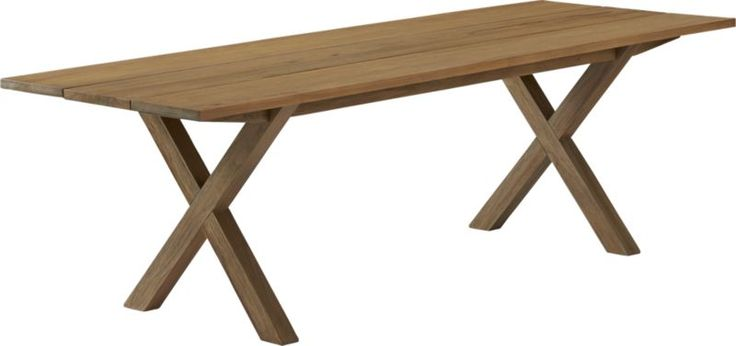 ... about Outdoor Table on Pinterest | Picnic tables, Teak and Bench seat