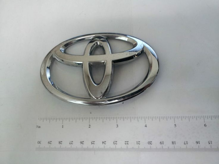 GENUINE TOYOTA COROLLA REAR DECK LID TOYOTA SYMBOL-OEM BRAND NEW 2011 2012 2013 #Toyota
