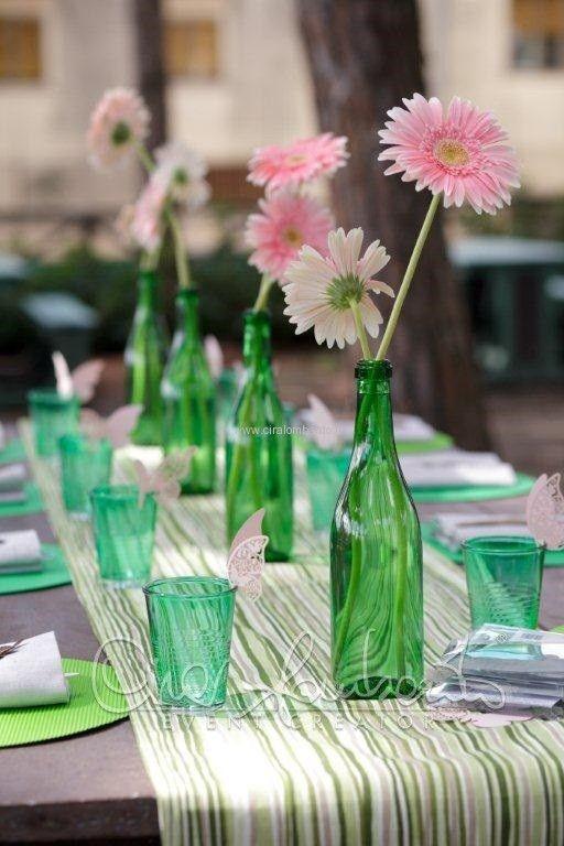 Festa di compleanno eco chic per un allestimento dei tavoli delicato come la natura | Cira Lombardo Wedding Planner