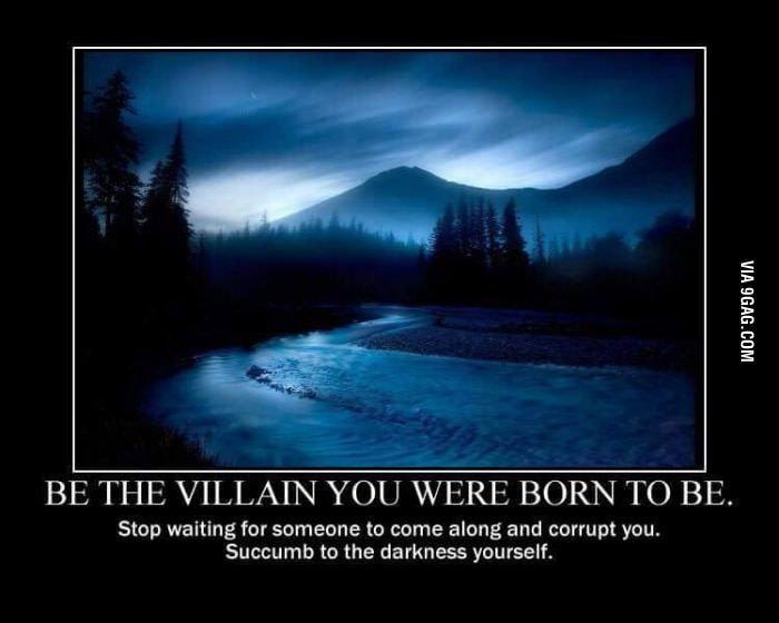 If you were a villain, what would you do? World Domination?