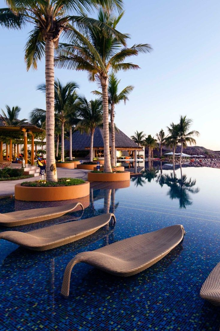 The CostaBaja Resort and Spa has three pools by the Sea of Cortez. #Jetsetter