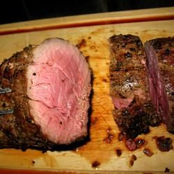 Grilled Beef Tenderloin with Herb-Garlic-Pepper Coating Allrecipes.com  This is the one I made for Christmas. Very good.