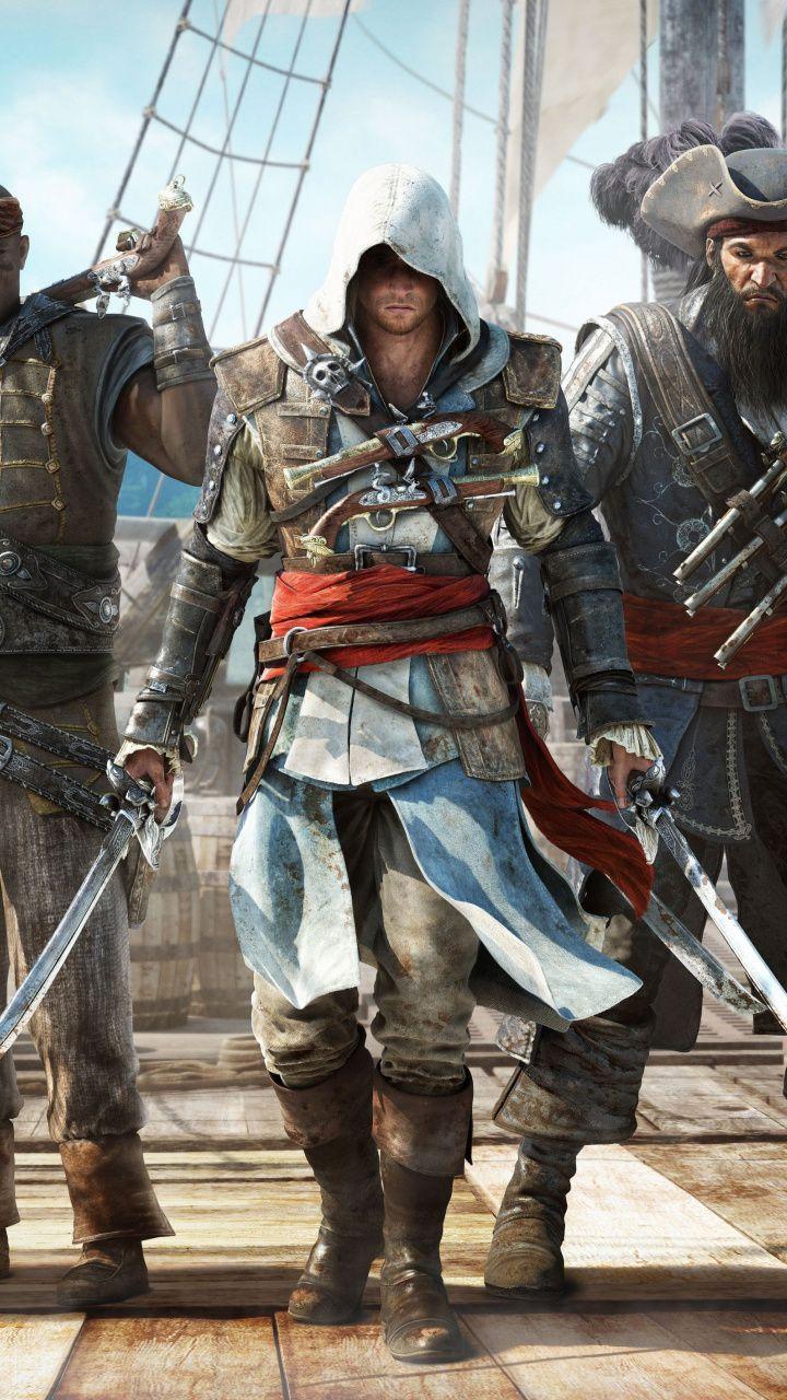 Assassin S Creed Iv Black Flag Warrior Pirates 720x1280