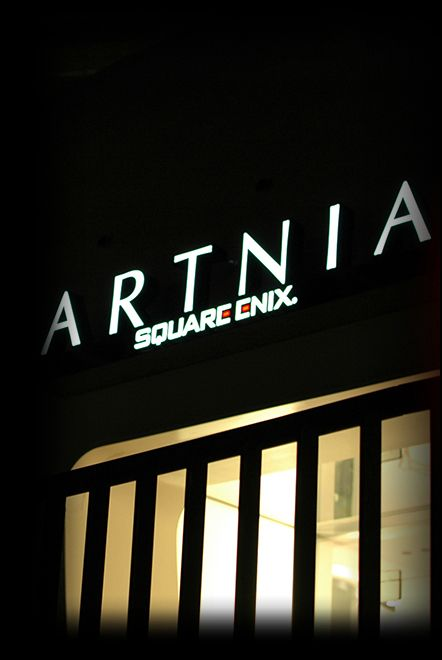 ARTNIA Official Web Site    cafe and gift shop dedicated to all things Final Fantasy