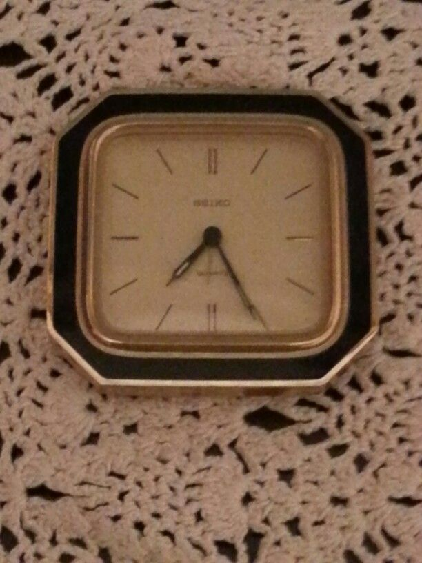 Time and lace. Grandmother times...
