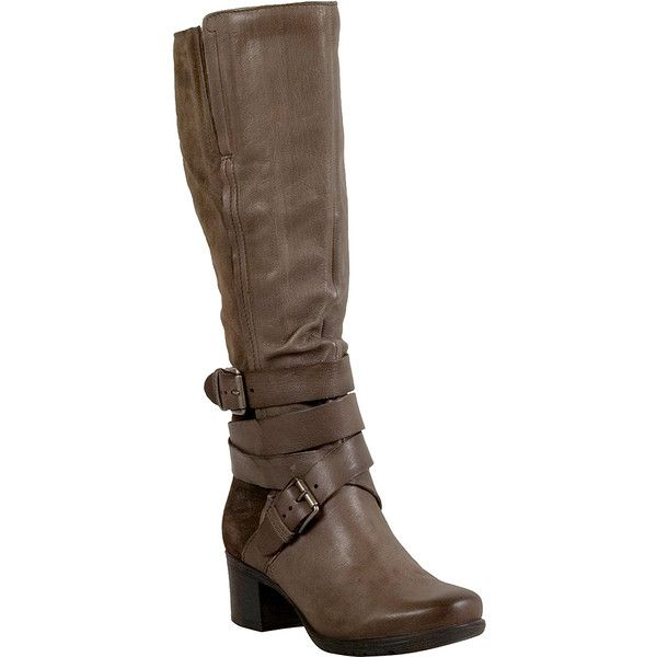 Miz Mooz Dina Women's Riding Boot ($190) ❤ liked on Polyvore featuring shoes, boots, knee-high boots, rock, genuine leather boots, equestrian boots, knee length boots, real leather riding boots and knee boots
