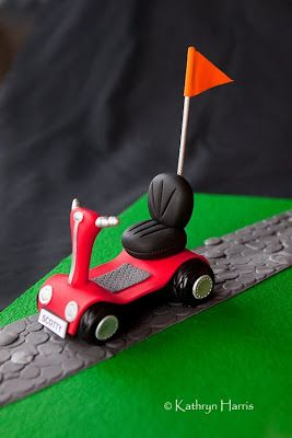 mob scooter fondant
