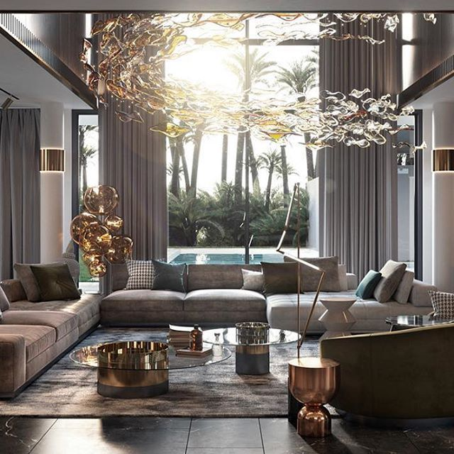 Top Project T H I Interiors Luxury Living Room Luxury Living Room Design Interior Design