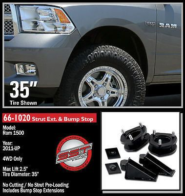 ReadyLIFT 2.5' lift Leveling Kit 06-08 Ram 1500 2011-2012 RAM 1500 4WD 66-1020