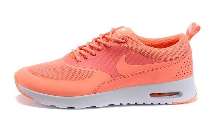 Buy Authentic Nike Air Max Thea Womens Trainers Salmon Red Shoes-Cheap Real  Womens Air Max Thea For Sale