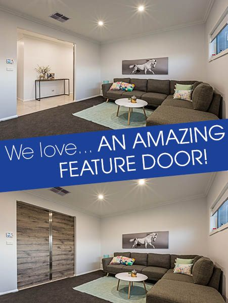 What a great feature door!