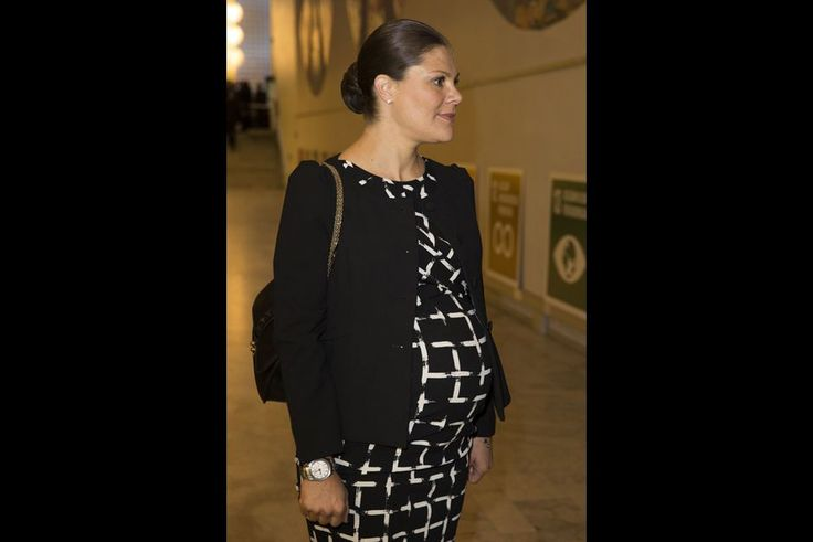 The Swedish Royal Court: Crown Princess Victoria at the Conference of Substantial Development