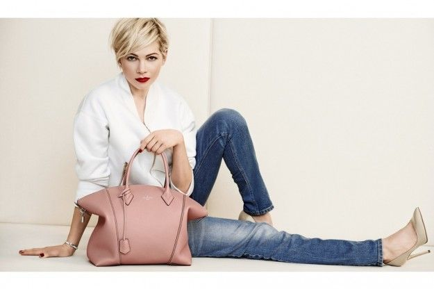 Tagli pixie cut 2014 - Pixie cut di Michelle Williams per Louis Vuitton