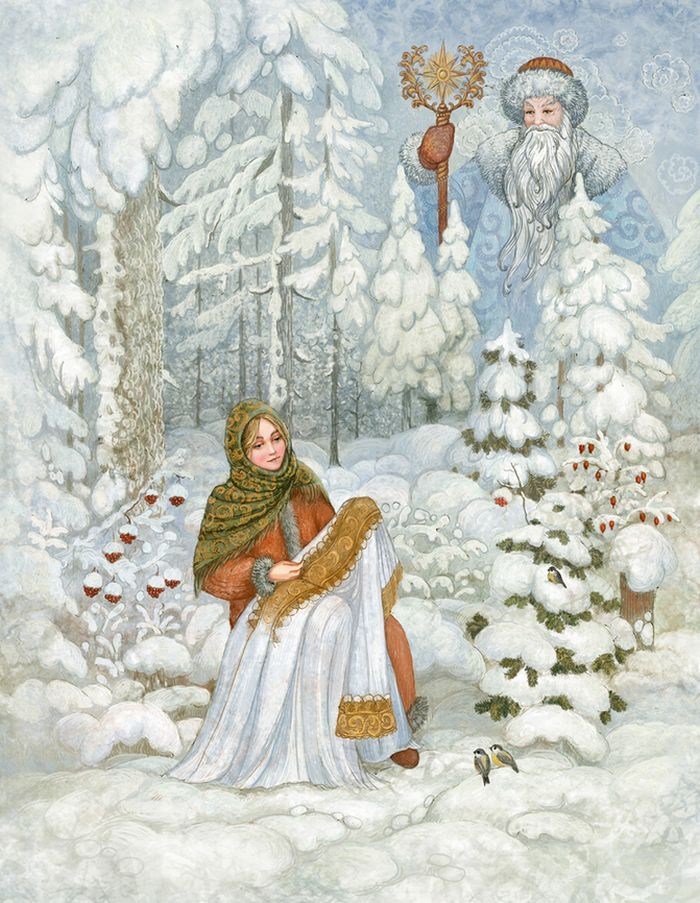 Художник-иллюстратор Галина Егоренкова