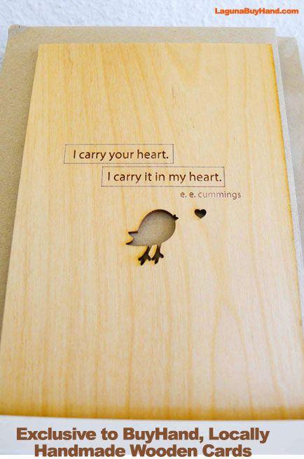 #handmade #madeinamerica #lagunabeach wooden card #exclusive #buyhand