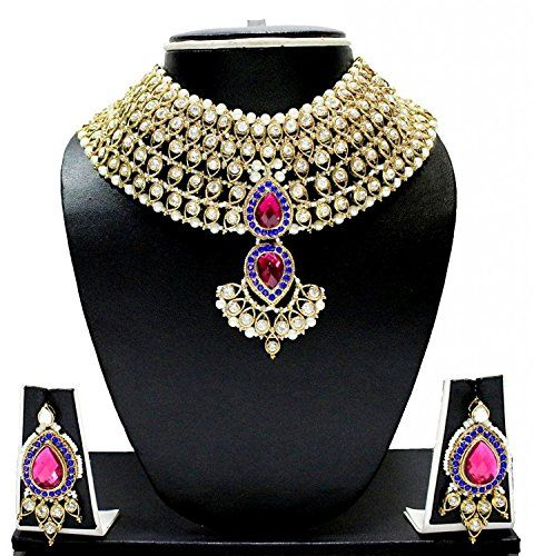 Latest Indian Bollywood Inspired Gold Plated Pink & Blue ... https://www.amazon.ca/dp/B01N6PCSQF/ref=cm_sw_r_pi_dp_x_BxRNybXCGYH01