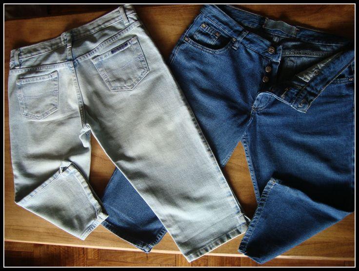 ¡Calzate esta promo! ¿Cómo las tunearías? #Bermudas #Denim 1 x $80 2 x $100 ✮ Jean Claro #TaosJeans T.26 ✮ Jean Azul Marino #Tucci T.27