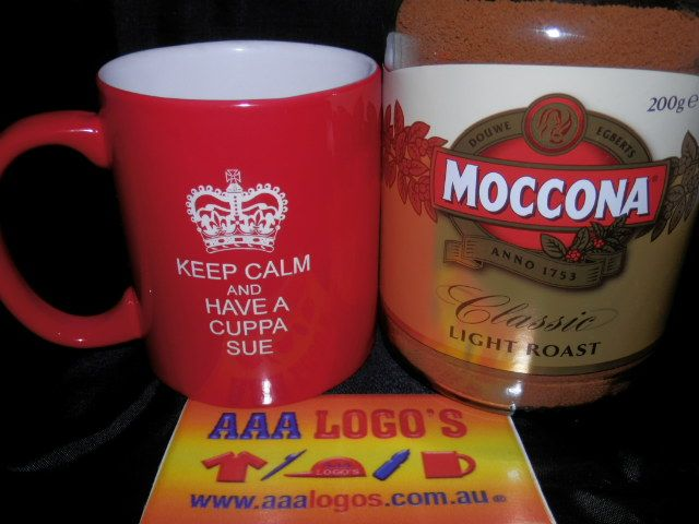 We use coffee mugs everyday! Get your brand out there or have your coffee mug personalized so no one steals it!, Select from our Huge range of styles and colours of Promotional Printed or engraved Ceramic Coffee Mugs! http://www.aaalogos.com.au/printedmugs.htm
