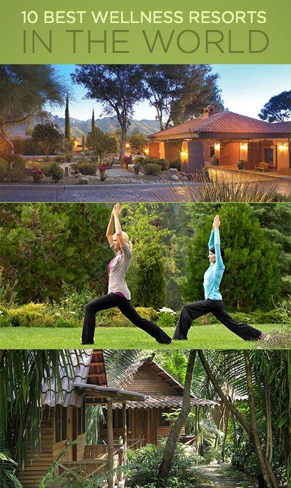 10 Best Wellness Resorts in the World