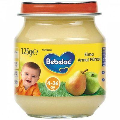 Bebelac Kavanoz Maması Elma Armut Püresi 125 gr - http://www.baybayankozmetik.com/bebelac-kavanoz-mamasi-elma-armut-puresi-125-gr.html