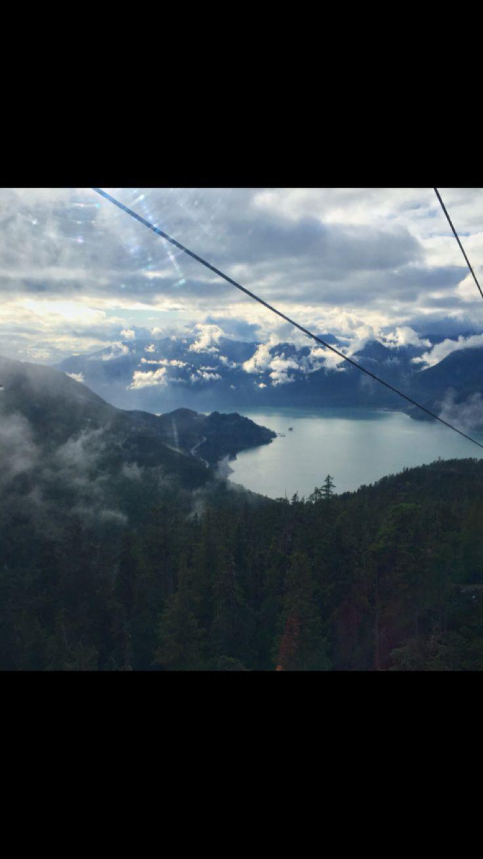 Sea to Sky gondola. Breathtaking views.
