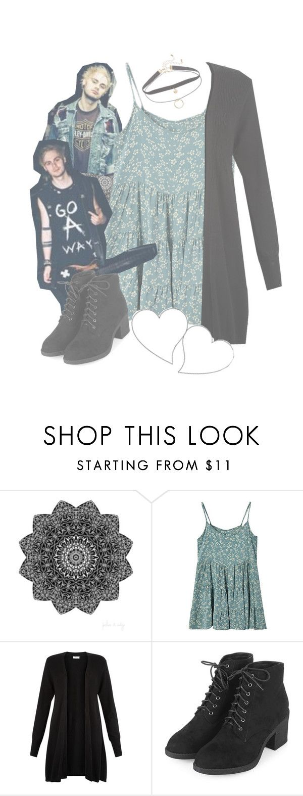 """""""over crowded set -- with Mikey Clifford x // I'm finally a style icon woOH!"""" by audrey-panda ❤ liked on Polyvore featuring Monsoon and Topshop"""