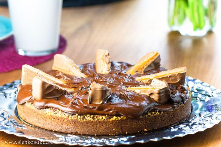 Supersmaskig Kladdkaka Med Chokladtopping #kladdkaka #supersmaskigkladdkaka #chokladtopping #dessert #slankosund
