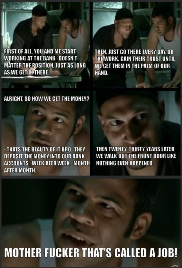 The bank job - key and peele are the best!