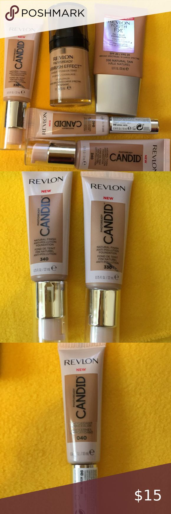 ️ Revlon ️ New. Never Used 2 Natural Finish Anti Pollution
