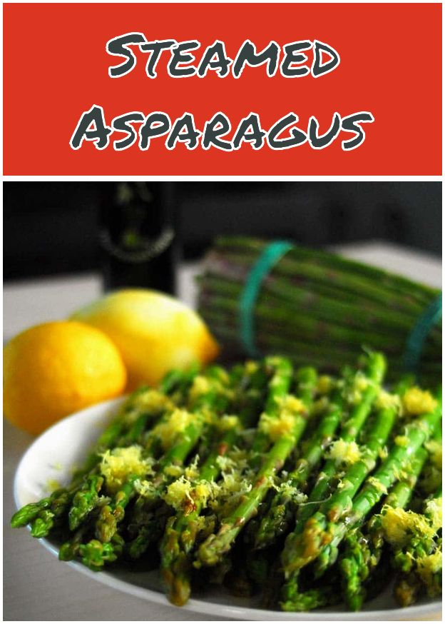 Steamed Asparagus Cooking For Kids Vegan Recipes Healthy