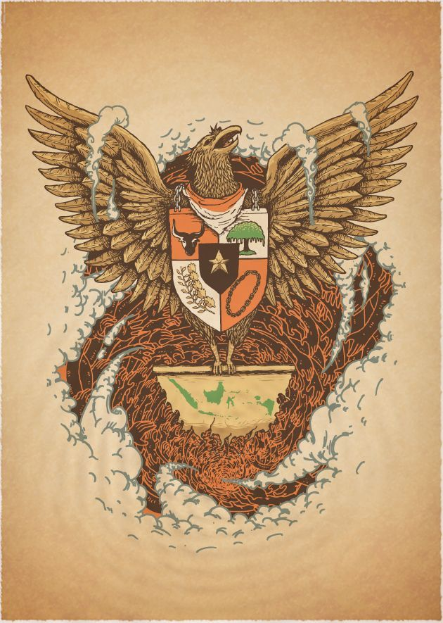 contoh poster nasionalisme indonesia poster nasionalisme
