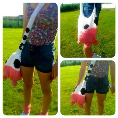 Gallery - Thing-a-ma-bobs Our very own MooMoo bag