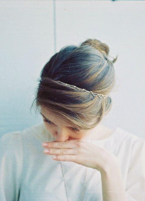 delicate hair chain
