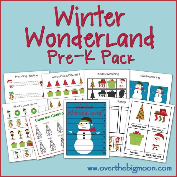 Winter Wonderland activities!