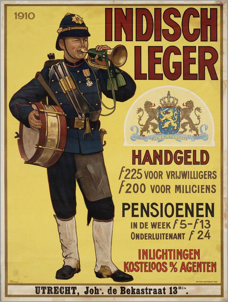 """""""HetKoninklijk Nederlandsch-Indisch Leger(KNIL) was hetNederlandsekolonialeleger. Het heeft officieel bestaan van 1830 tot 1950."""" (bron: wikipedia)"""